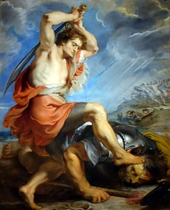 David Slaying Goliath Peter Paul Rubens, 1630