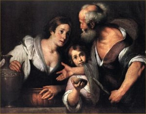 Elijah and Widow with Son