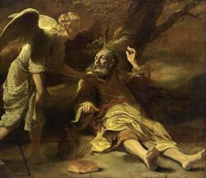 Elijah Fed By Angel