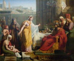 Moses and Pharoah's Daughter