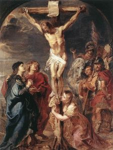 Rubens Crucifixtion Scene